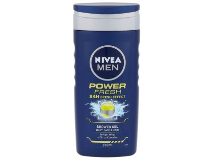Nivea Men Power Refresh sprchový gel 250 ml
