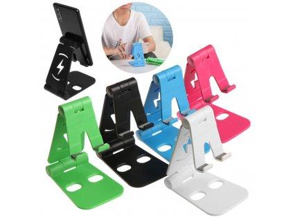 Stojánek na mobilní telefon a tablet skládací