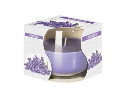 Svíčka vonná ve skle Lavender 100g