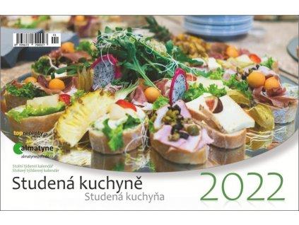 Studená kuchyně stolní kalendář 2022