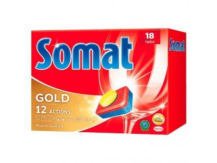 Somat Gold Prostředek na automatické mytí nádobí 18 tablet 342g