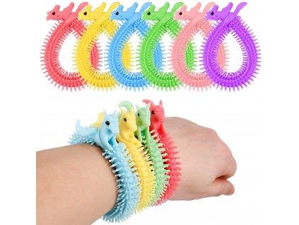 Náramek elastický pro dívky s pegasem 6