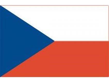 Magnetická česká vlajka