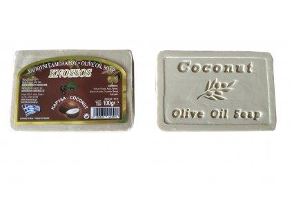 mýdlo s kokosovou vůní