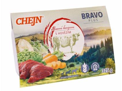 CHEJN Bravo plus Hovězí 325 g