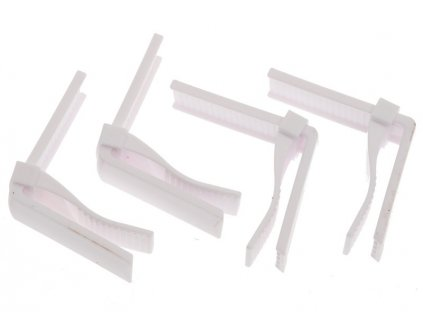 Spony na ubrus z plastu 4 ks