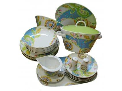 Porcelánová souprava ke stolování Thun 27 dílů