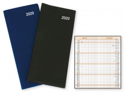 96856 HELENA diář plánovací kapesní 2020