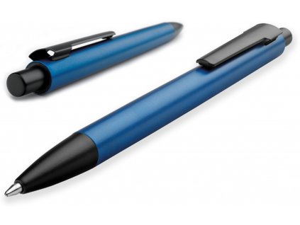 Kovové kuličkové pero TARANIS modré