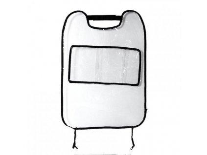 Transparentní chránič sedadel s přihrádkou 1