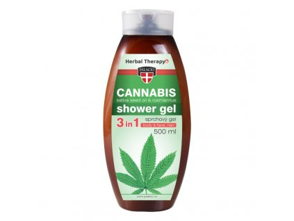 cannabis rosmarinus sprchovy gel 500ml