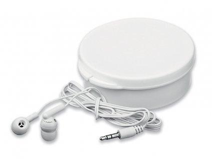 Sluchátka stereo jack 3,5 v plastové krabičce