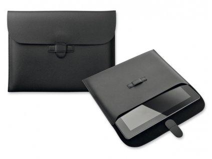 ICASE obal na iPad Černá Imitace kůže