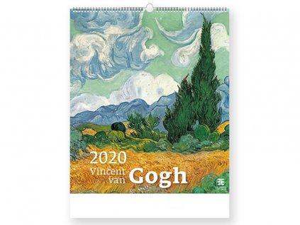 96918 VINCENT VAN GOGH nástěnný kalendář, 45X52 cm