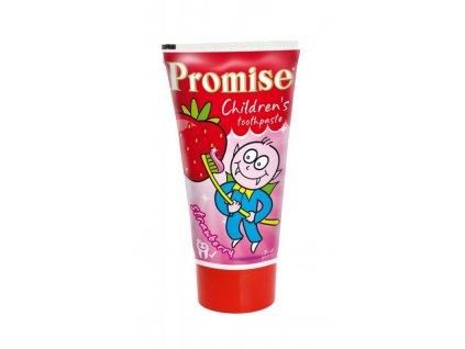 Dětská zubní pasta PROMISE jahoda