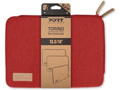 port designs torino pouzdro na 13 3 14 notebook cervene 140406