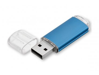 45239 14 USB FLASH 40 kovový USB FLASH disk s plastovým krytem, rozhraní 2 0 Termotisk