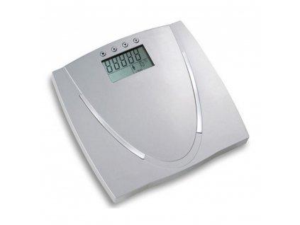 Váha osobní elektronická multifunkční šedá