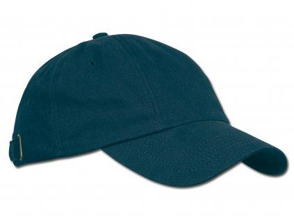 RADO bavlněná baseballová čepice, kovová spona, 6 panelů, Modrá