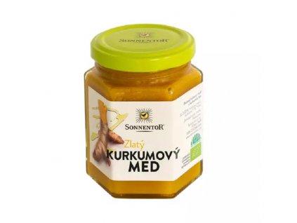 Zlatý kurkumový med 230g