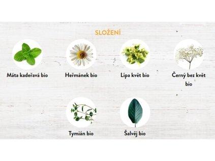 Usmrkánek bylinný čaj bio