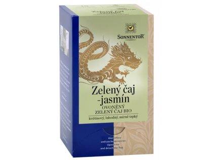 Zelený čaj - jasmín - porcovaný