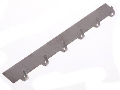 Samolepící háček 6 ks z nerez oceli 2526654