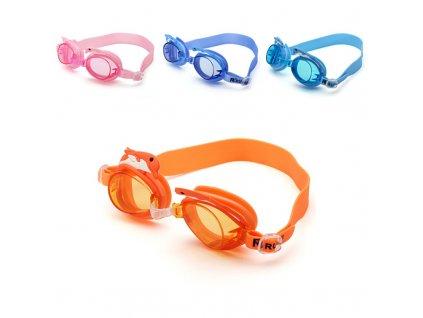 Plavecké brýle RUIHE RH4800 oranžové