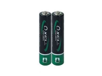 Baterie mikrotužková, OXEL, R03 (AAA)