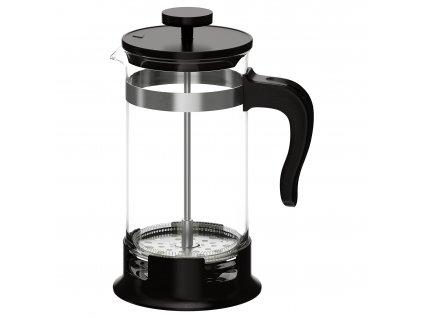 Konvice na čaj a kávu, sklo, nerezavějící ocel