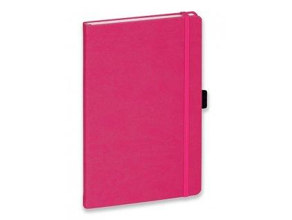Poznámkový zápisník LANYO II růžová