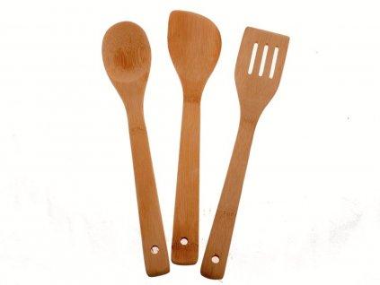 Kuchyňské náčiní z bambusu 3 ks 2141958