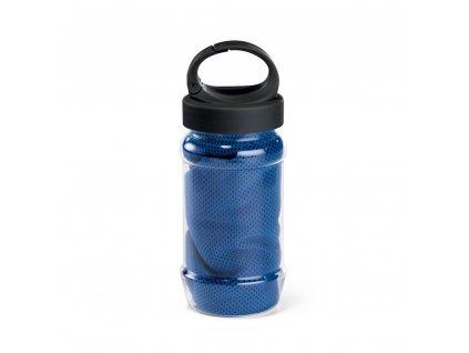 Sportovní ručník s obalem ve tvaru láhve 99967 24