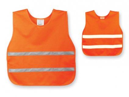Polyesterová reflexní vesta, dětská velikost