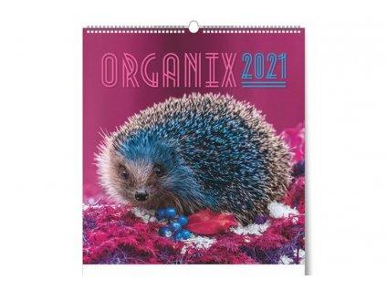Nástěnný kalendář Organix 2021 titulní strana