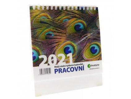 Kalendář stolní Pracovní 2021 88595672700300 1