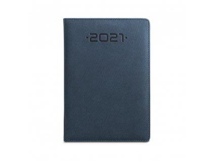 56100 04 SOFT B5 diář, modrý 1
