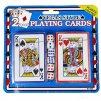 Hrací karty 2 balíčky s 6 kostkami
