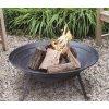 Přenosném ocelové ohniště průměr 52cm