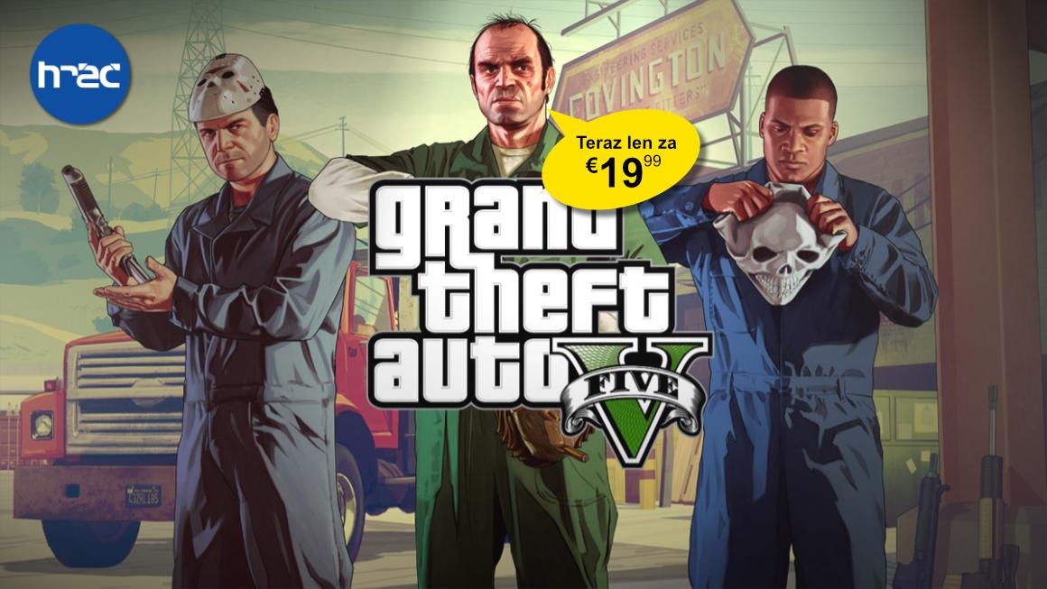 Akčná cena - GTA 5 Premium Edition