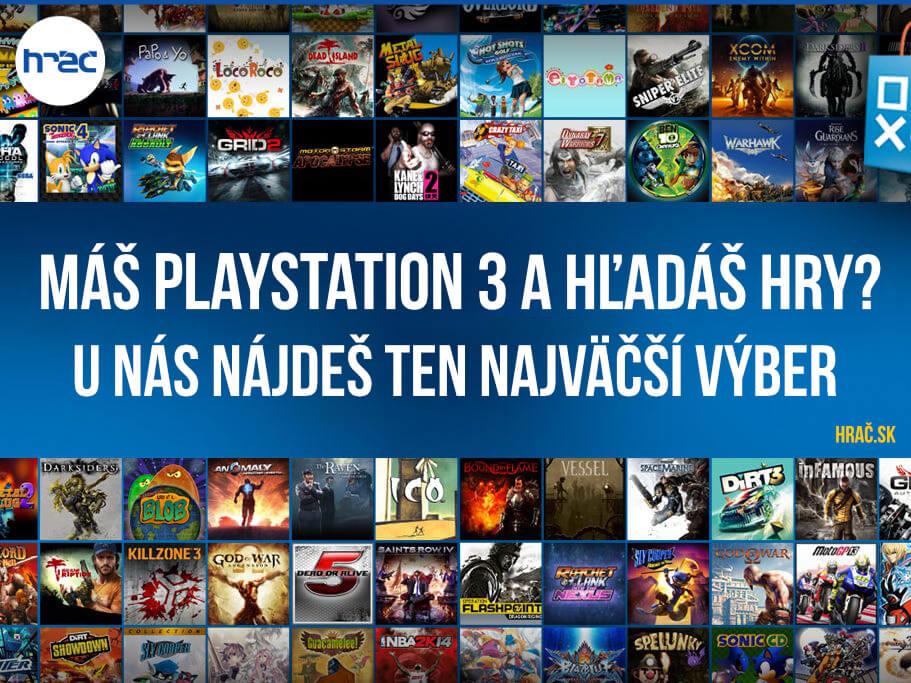 Playstation 3 - Najváčší výber hier