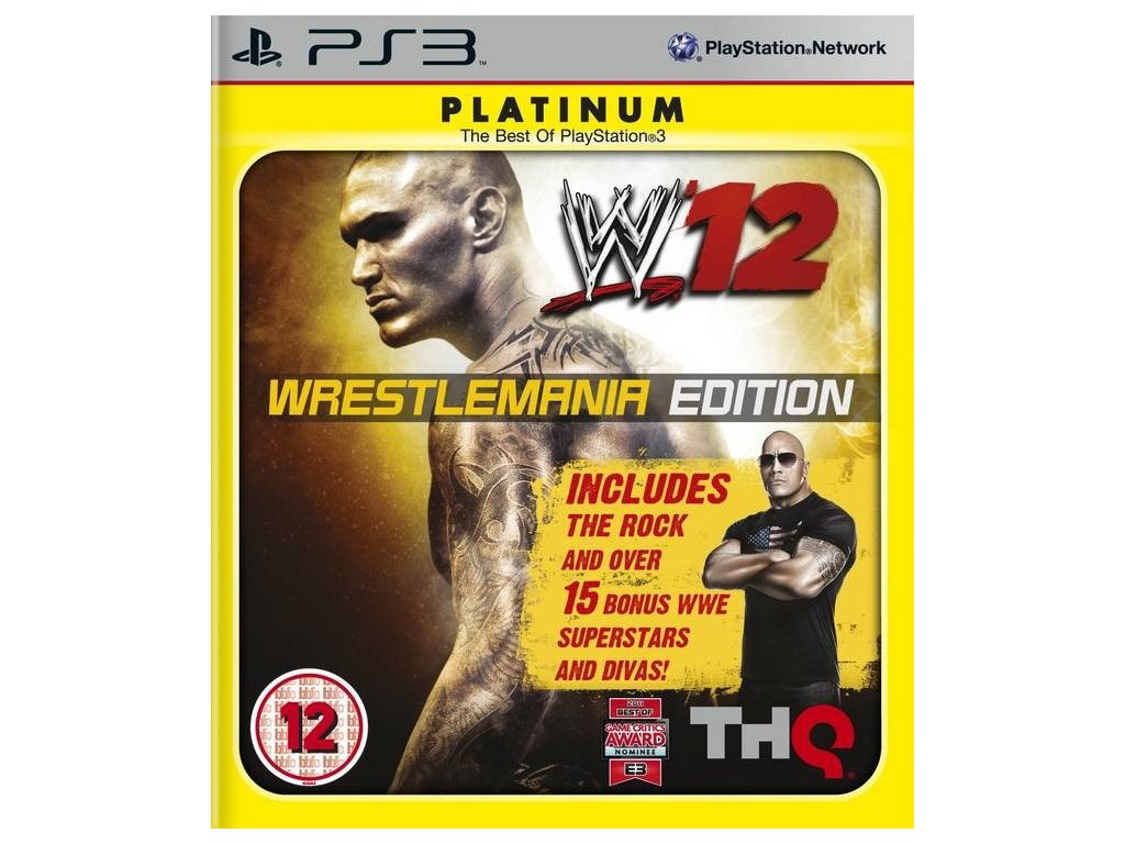 p3s wwe 12 wrestlemania edition 08ac70e72a616698