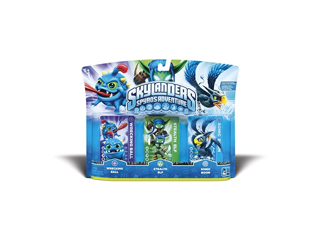 AC SKYLANDERS TRIPLE PACKS (BALLELFSONIC)