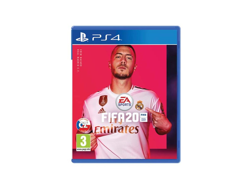 fifa 20 ps4 dvd cover