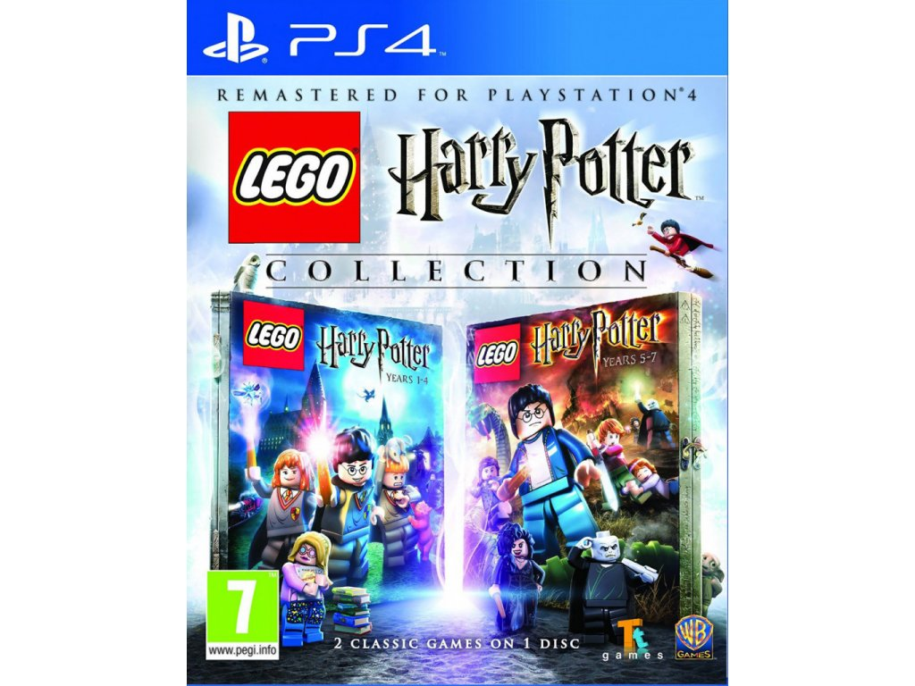 P4S LEGO HARRY POTTER COLLECTION (YEARS 1-4 & YEARS 5-7)