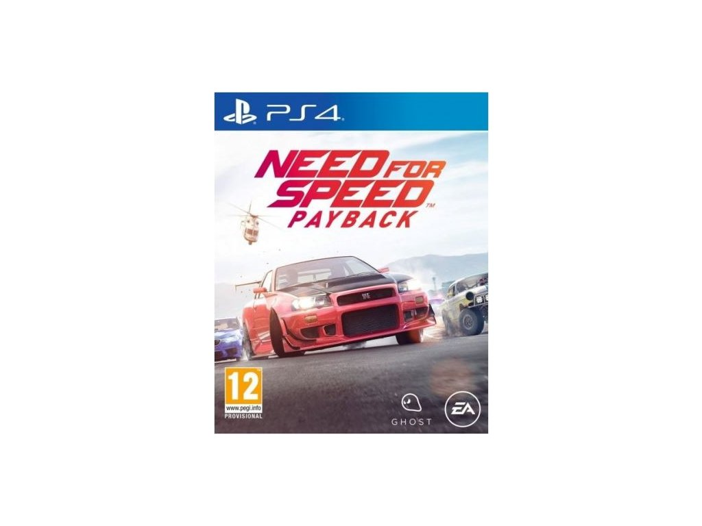 need for speed payback ps4 dvd cover