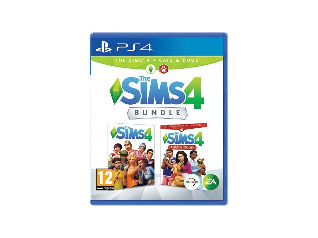 P4S SIMS 4 + SIMS 4 CATS & DOGS