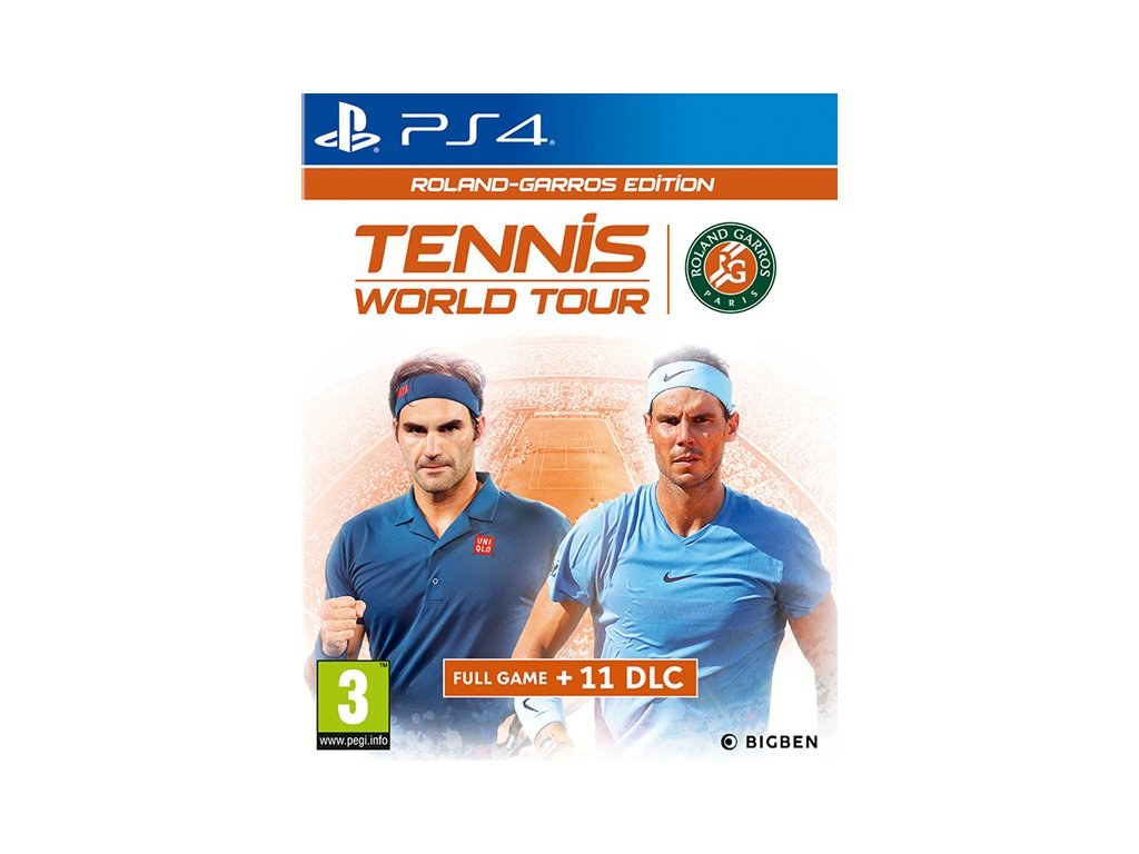 P4S TENNIS WORLD TOUR ROLAND GARROS EDITION