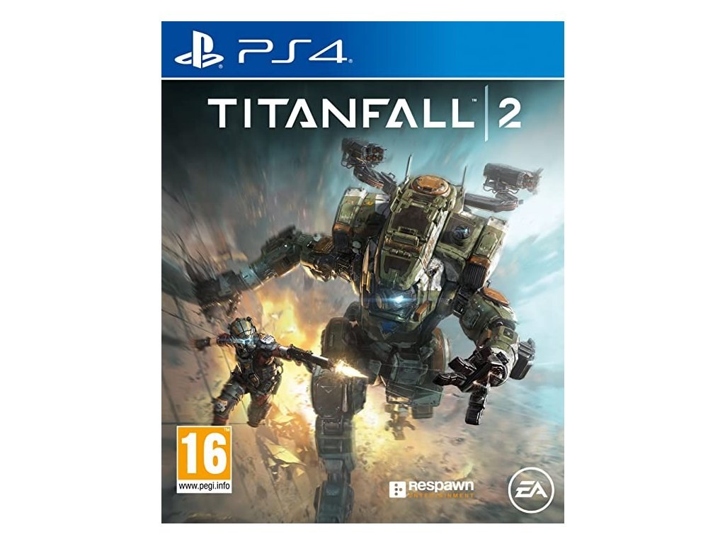 ps4 titanfall 2 front cover