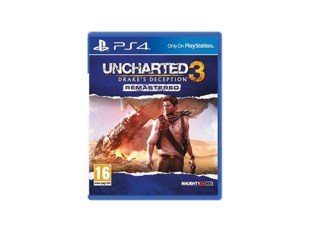 P4S UNCHARTED 3 DRAKE'S DECEPTION REMASTERED